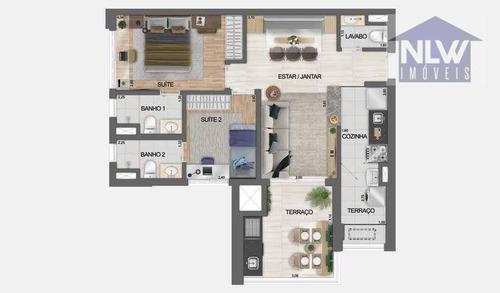 Imagem 1 de 22 de Apartamento Com 2 Dormitórios À Venda, 73 M² Por R$ 664.600,00 - Jardim Independência - São Paulo/sp - Ap3752