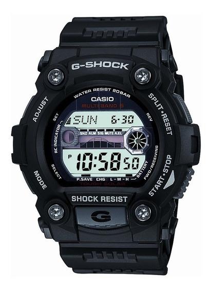 Reloj Casio G Shock Gw 7900 Solar Fases Lunares Mareas