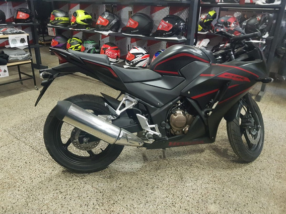 Jm Honda Cbr 300 Inyection Abs Negro Mate Ultima 2018/2019