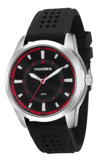 Relógio Mondaine Masculino Analógico Silicone 99149g0mvni1