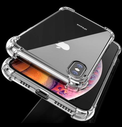 Case Transparente iPhone X/ Xr/ Xs Max/ 11/ 11pro Max + Mica