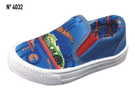 Zapatillas Para Niños Hot Wheels, Originales!!