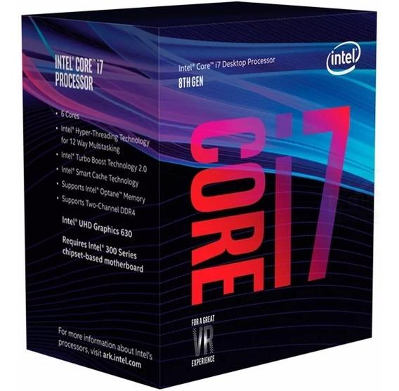Micro Procesador Intel Core I7 8700k 3.7ghz Coffee Lake