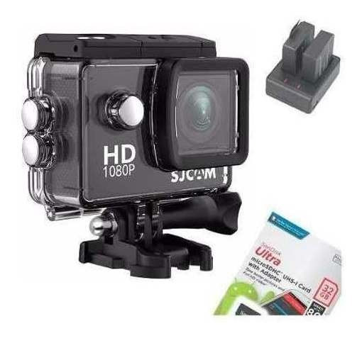 Câmera Filmadora Esporte Sjcam Sj4000 Mergulho A Prova Dágua