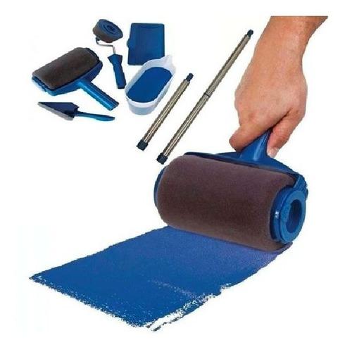 Imagen 1 de 8 de Rodillo Para Pintar Rellenable Paint Roller Kit 8 Pzs