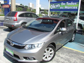 Honda Civic 2.0 Exr Flex Aut. 4p 2014 Cinza