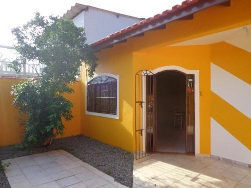 Imagem 1 de 13 de Bela Casa Com 300 Metros Do Mar Em Itanhaém - 5547 | A.c.x
