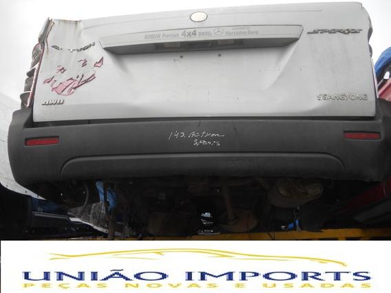 Para-choque Traseiro Ssangyong Actyon Sport 2009 (avarias)
