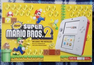 Nintendo 2ds New Super Mario World 2 Nuevo