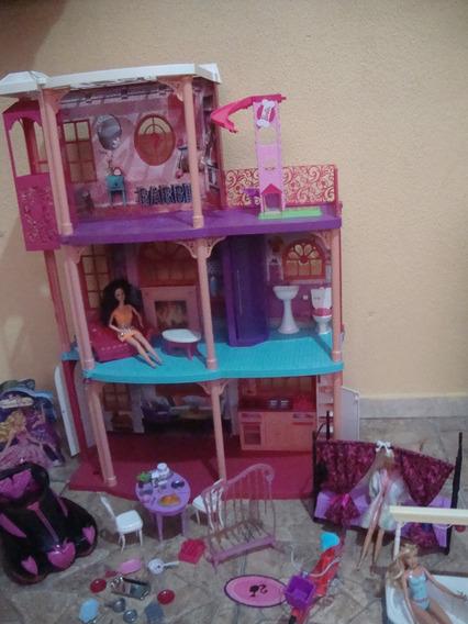 Casa Da Barbie Acessorios Da Barbie Lote