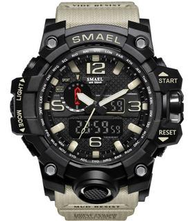 Relógio Smael 1545 Masculino Militar Esportivo Digital