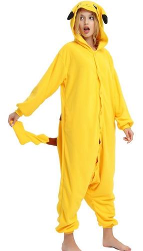 Pikachu Pijama Macacão Kigurumi - Pronta Entrega