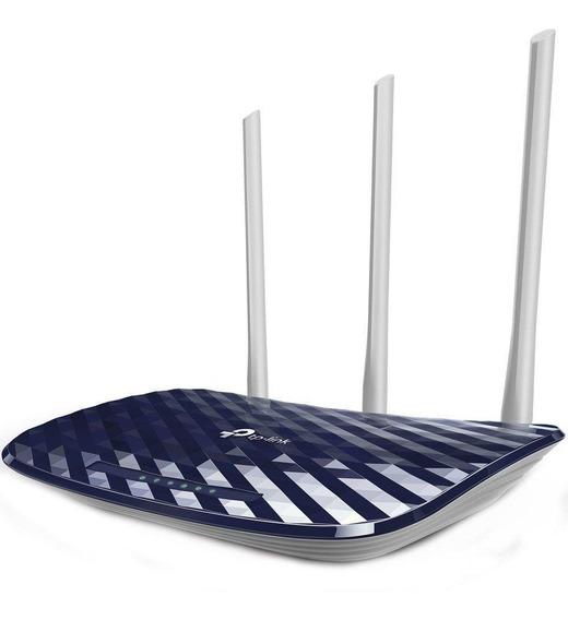 Roteador Wireless Ac750 Dual Band 3 Antenas 4.0 Archer C20