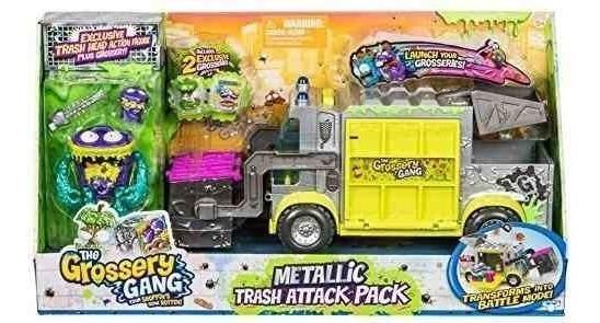 The Grossery Gang Pack Ataque Con Basura Metalico