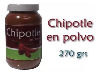 Chile Chipotle En Polvo 270g Deshidratado Especies Kesane