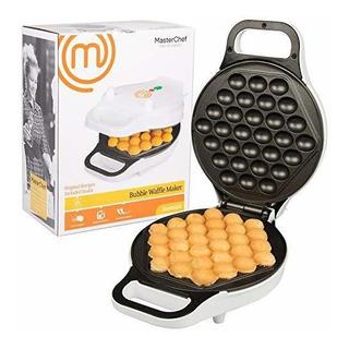 Masterchef Bubble Waffle Maker - Plancha Antiadherente Elect