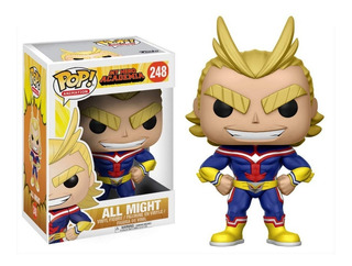Funko Pop All Might #248 My Hero Academia Jugueterialeon