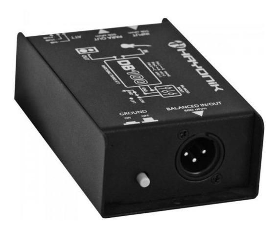 Direct Box Passivo Db100 Hayonik Converte P10 P/ Balanceado