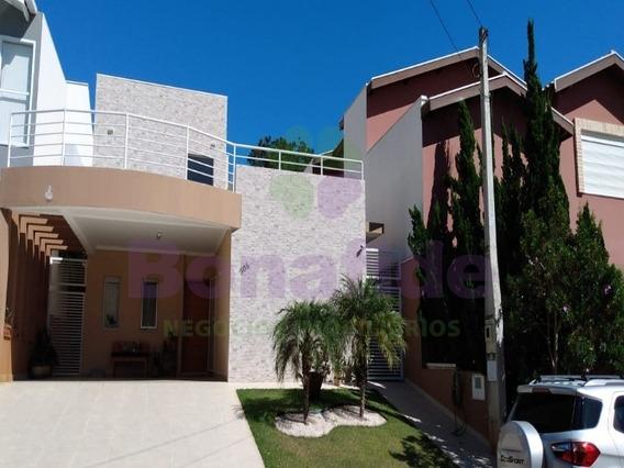 Casa A Venda, Condomínio Village Das Flores, Bairro Jardim Novo Mundo, Cidade Jundiaí. - Ca09737 - 67774859