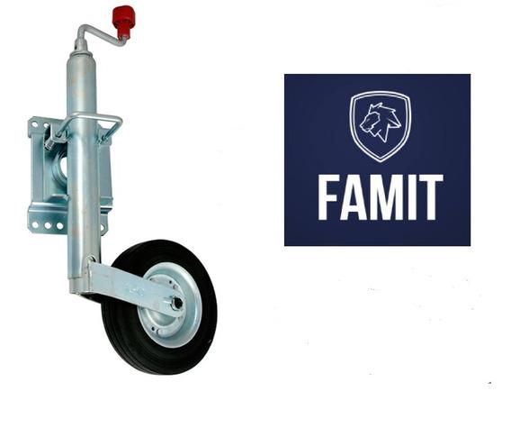 Pedestal Carreta Roda Reboque Barco Escamoteável Famit