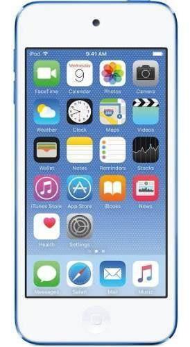 iPod Touch 6 Geração 32gb Lacrado Azul Ou Dourado Nfe