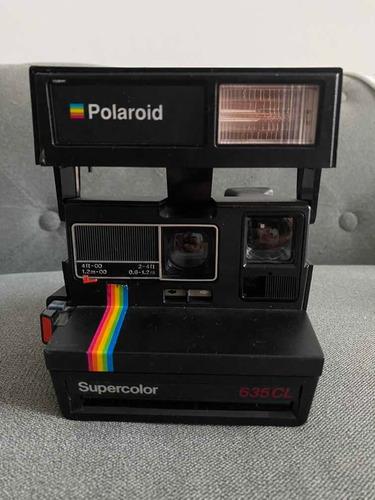 Câmera Polaroid Supercolor Colecionador