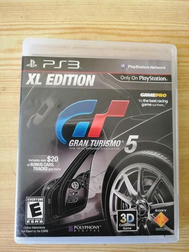 Juego Para Play Station 3, Gran Turismo 5 Lx Edición.