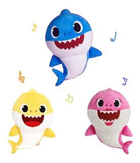 Figura Baby Shark 18cm Con Su Canción E Iluminación Sonido