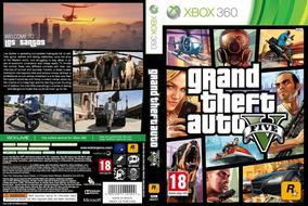 Gta 5 + 7 Jogos Xbox 360 Em Midia Digital Via Licença