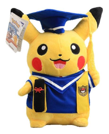 Nuevo Graduado Pikachu Cosplay Graduacion Pokemon Peluche