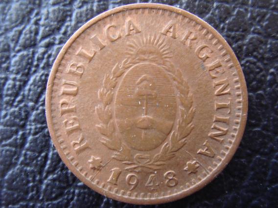 Argentina - Moneda D 1 Centavo D Cobre, Año 1948 - Muy Bueno