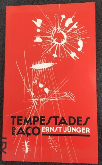Livro Tempestades De Aço - Ernst Jünger - Cosac
