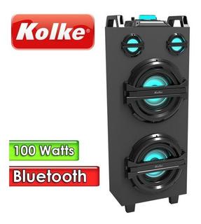 Parlante Kolke Bluetooth Pro 100 Kpg-181 Usb Sd Aux / Cuotas