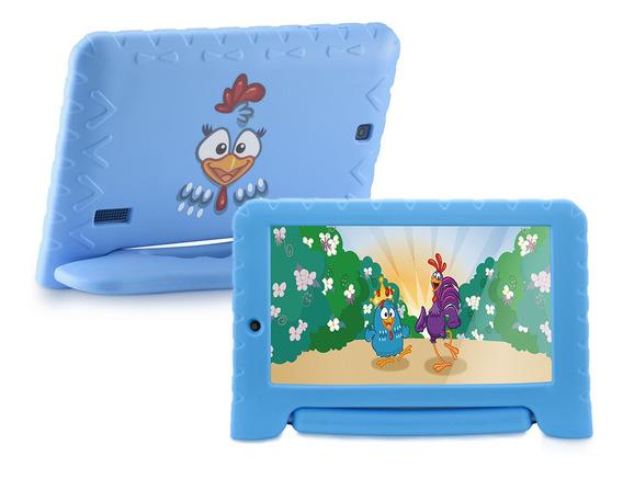 Tablet Infantil Criança Wifi Galinha Pintadinha Android 7pol