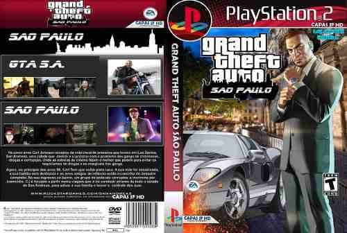 Gta San Andreas Ps2 Dvd Legendado Pt Br Playstation 2