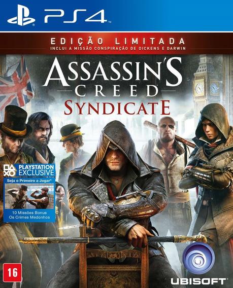 Jogo Assassins Creed Syndicate Edição Limitada Português Ps4