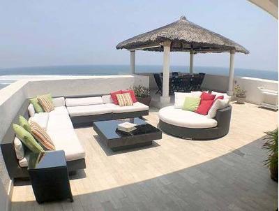 Cad Torre Uno 812 De Playa. Terraza Con Vista Al Mar