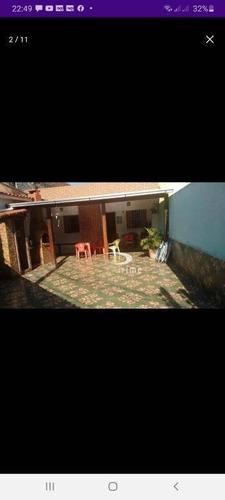 Casa Com 3 Dormitórios À Venda Por R$ 406.600,00 - Porto Da Pedra - São Gonçalo/rj - Ca0946