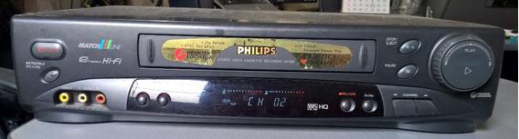 Vídeo Cassete Stereo Recorder Philips Turbo Driver Vr 756/78