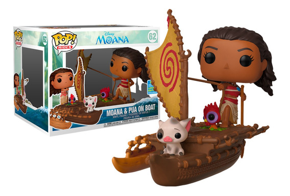 Funko Pop! Moana E Pua On Boat Limited Edition 62