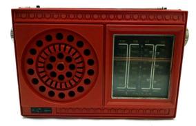 Motoradio Rpf-m41 4 Faixas Vermelho Para Desmanche Placa