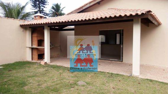 Casa Com 4 Dorms, Balnerio Gaivota, Itanhaém - R$ 370 Mil, Cod: 903 - V903