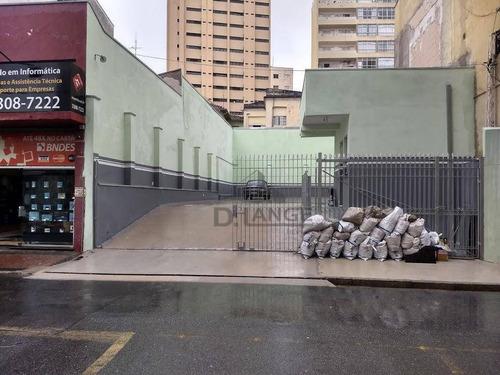 Imagem 1 de 30 de (p/ Investidor - Já Locado) -terreno / Estacionamento - Centro - Campinas Sp. - Te4798