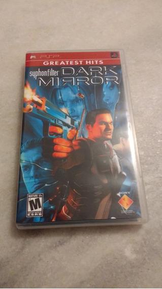 Syphonfilter Dark Mirror Psp Jogo Umd Original Playstation
