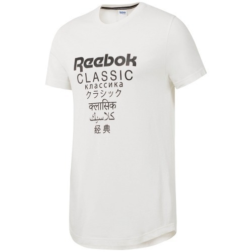 Remera Reebok Gp Unisex Longer Classics Blc