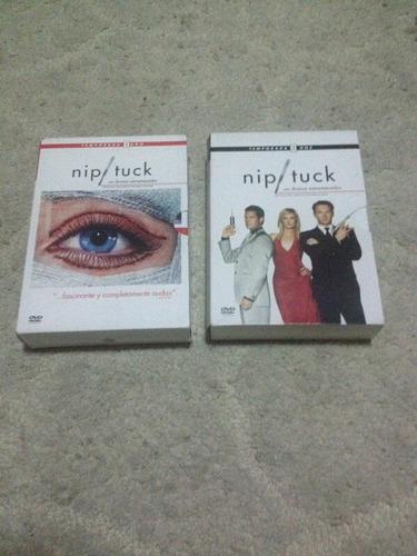 Imagen 1 de 1 de Nip / Tuck (serie).  Temporada 1 Y 2.