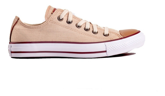 Zapatilla Converse All Star Lino Natural Unisex Original
