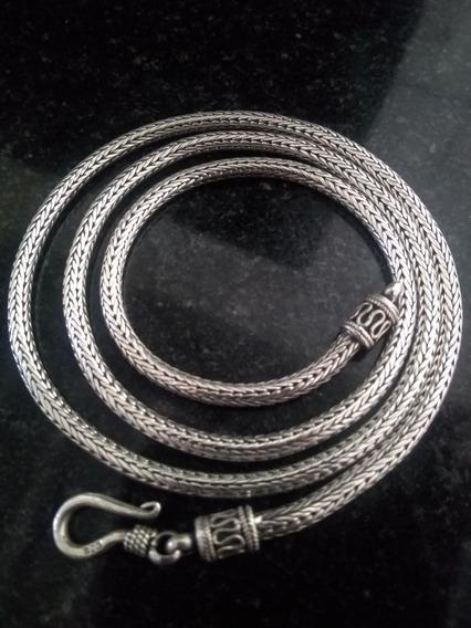 Cordão De Prata 925 Indiana 31 Gramas
