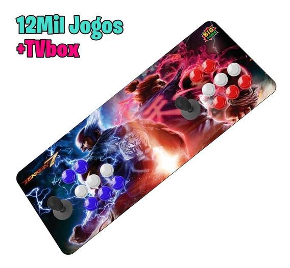 Fliperama Portátil Arcade Controle Duplo Aegir32gb Sem Juro