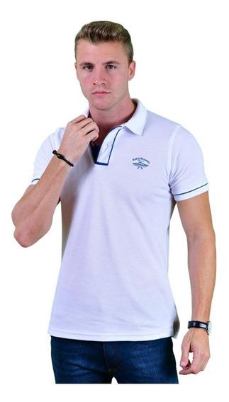 Blusa Tipo Polo Porto Blanco Mujer O Hombre Blanca